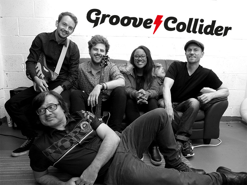 Groove Collider - west midlands wedding band
